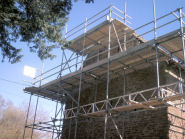 One of our scaffolding projects